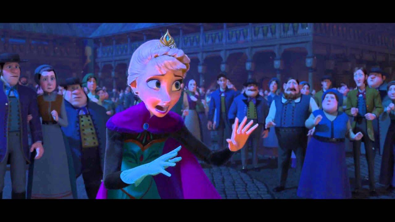 Elsa runs away