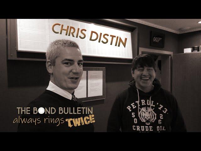 The Bond Bulletin always rings twice: Chris Distin 🍸