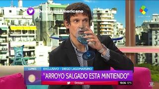 "Diego Lagomarsino en ""Desayuno americano"", de P.David con L.Novaresio - 06/12/17"