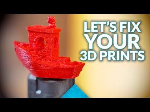 Improve your 3D prints: #3DSenpai help session!