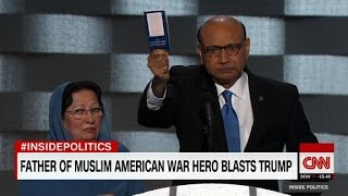 The father of a fallen soldier who took on Trump