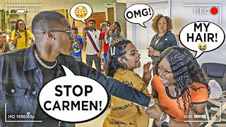 CHEATING ON CARMEN PRANK ON OUR SUPPORTERS 💔