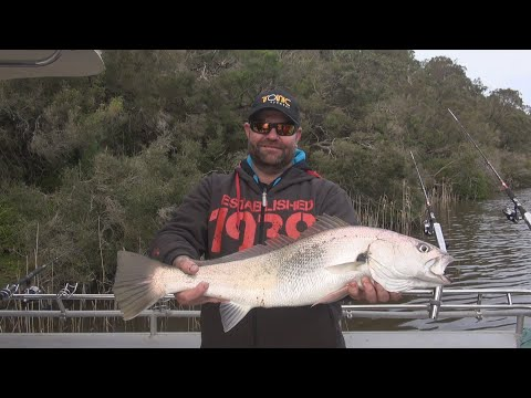 Oz Fish TV S7 E2 Mulloway Fishing With Reel Time Fishing Charters