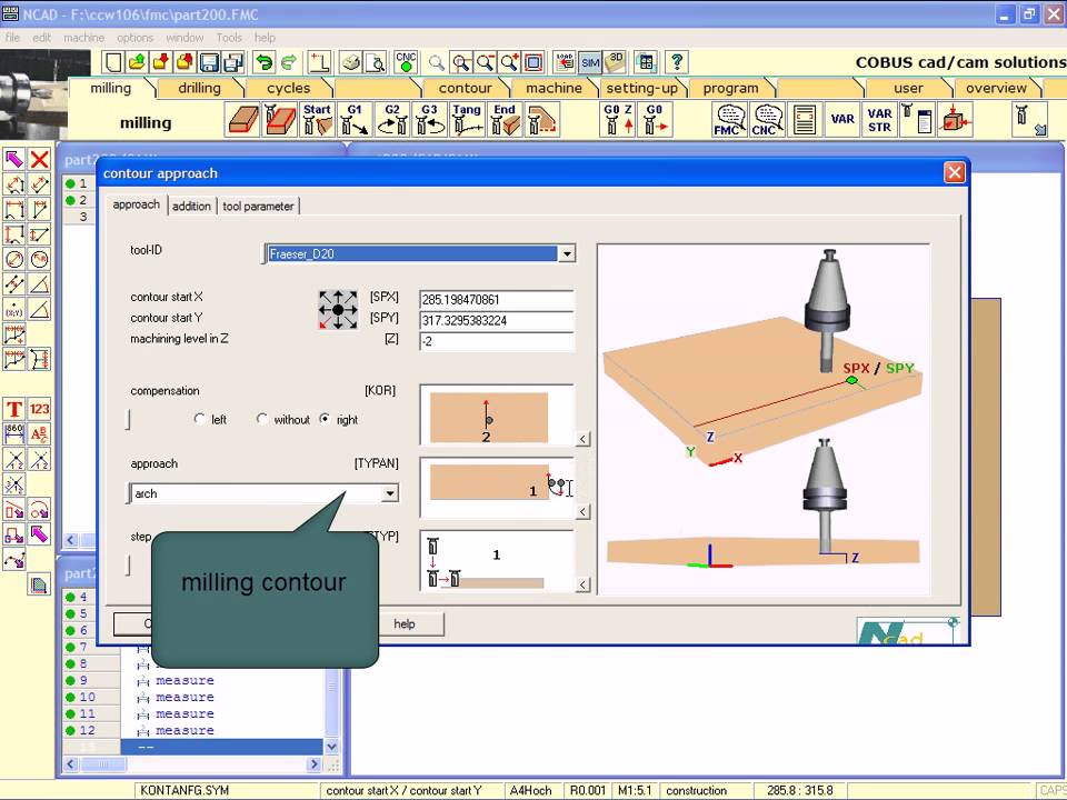 Ncad Cad Cam Software Youtube