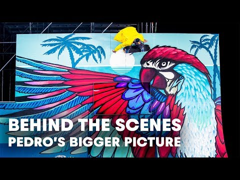 Skate behind the scenes of Pedro Barros