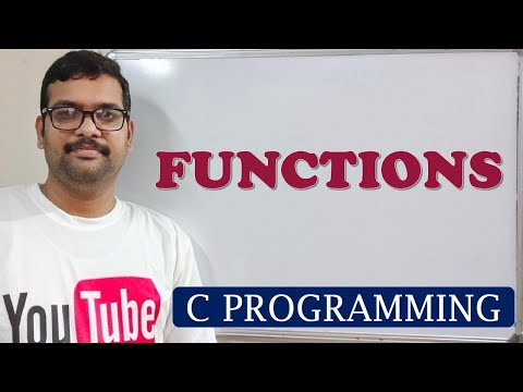C PROGRAMMING - FUNCTIONS