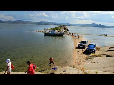 Бухтарминское водохранилище. Базы отдыха