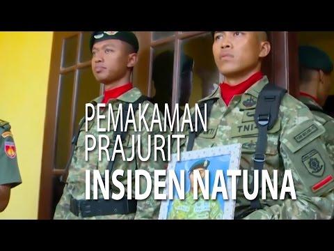 NET JATENG - PEMAKAMAN PRAJURIT INSIDEN NATUNA