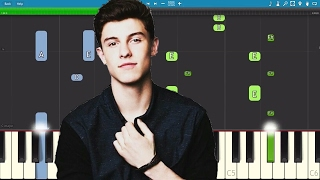 Shawn Mendes - There's Nothin' Holding Me Back - Piano Tutorial