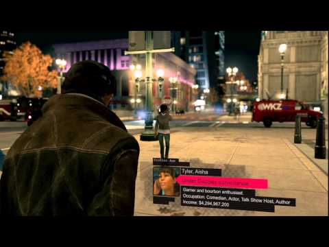Watch Dogs - Aisha Tyler in-game footage