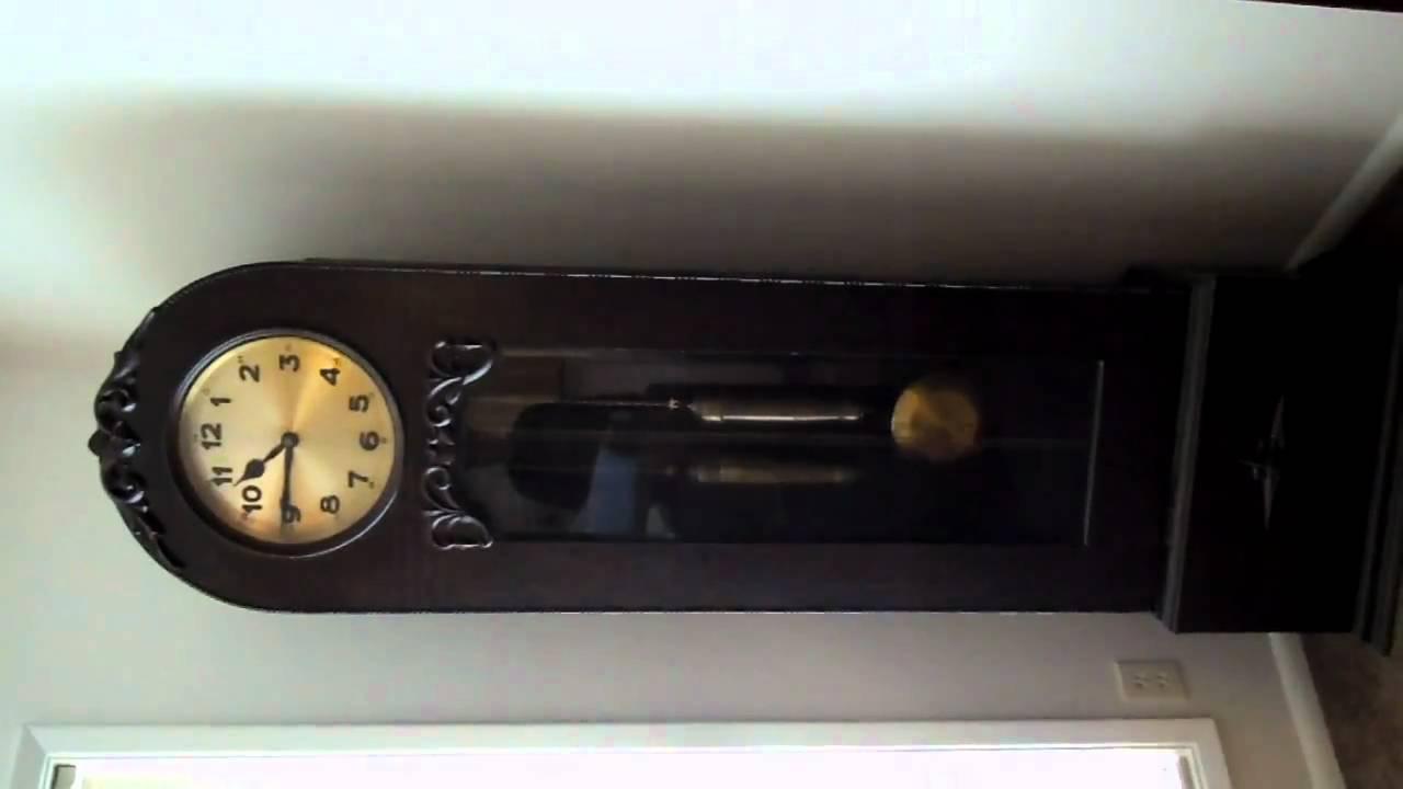 100 Year Old German Dufa Grandfather Clock Youtube