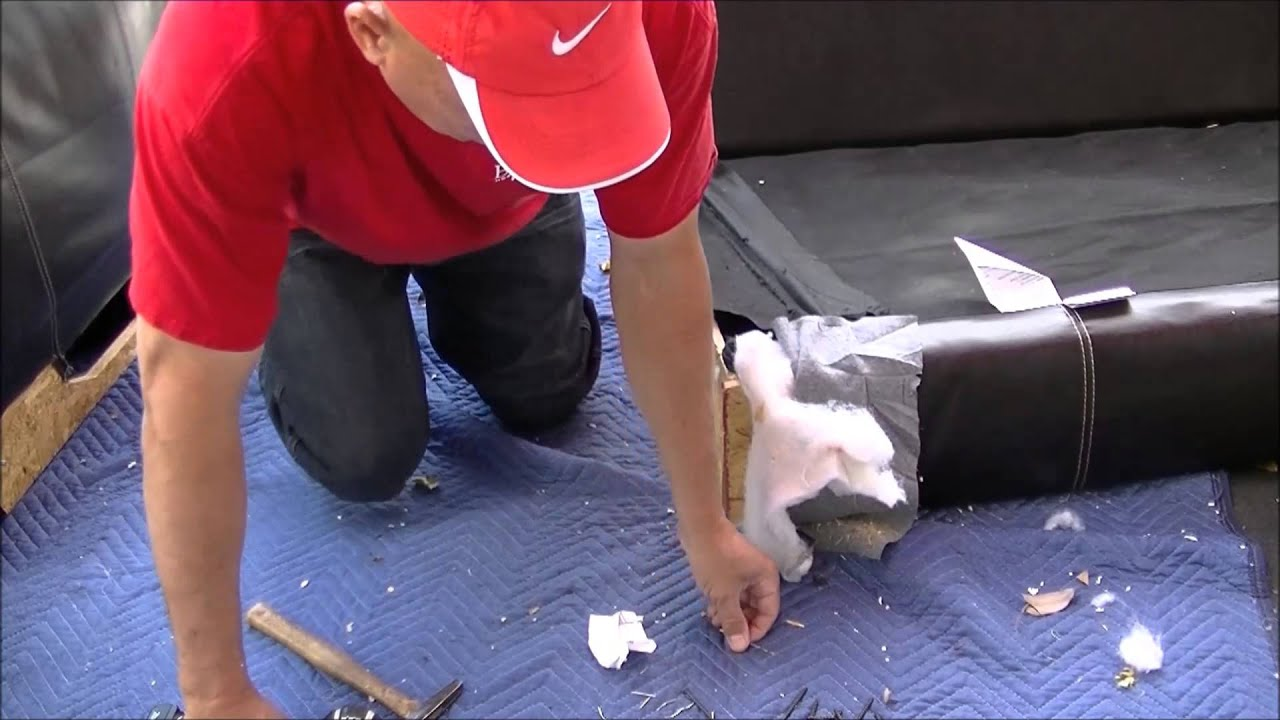fixing a broken sofa arm furniture row how to repair sectional inside and big ripped
