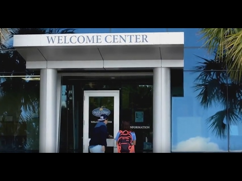 Welcome Center at Gulf Coast State College - (:30)
