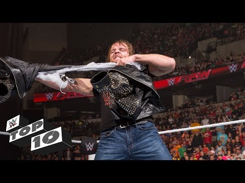 Clothing casualties in Superstar fights - WWE Top 10, Sept.