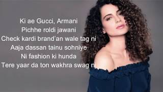 [LYRICS] The Wakhra Song - Judgementall Hai Kya |Kangana R & Rajkummar ,Navv Inder,Lisa,Raja Kumari