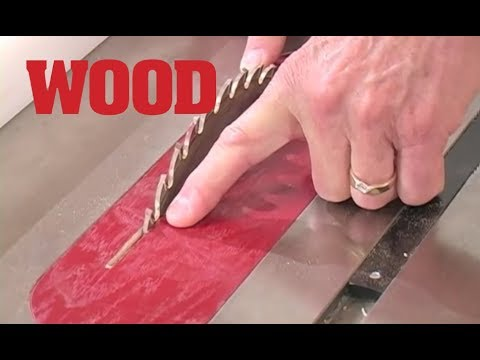 Make a Zero-clearance Insert for Your Tablesaw -- WOOD magazine