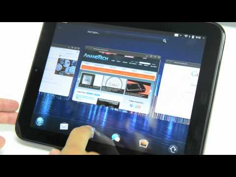 HP TouchPad - webOS Overview