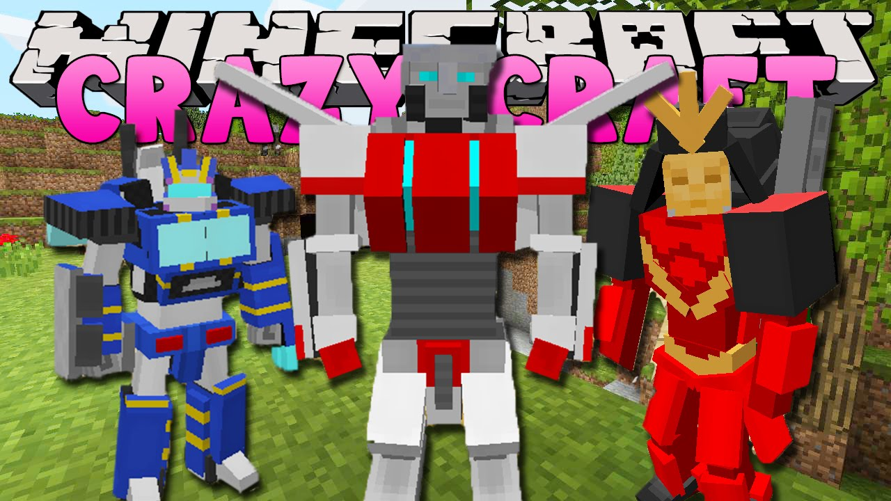 crazy craft free minecraft craft 3 0 transformers armour 1788