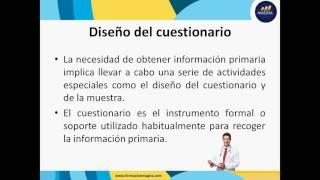 Planeación de la Investigacion de Mercados de Servicios de Salud