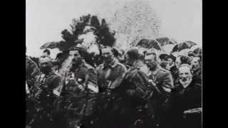 1913 год. Открытие памятника герою войны 1812 года И.С. Дорохову.