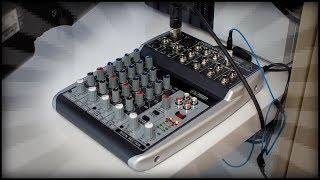 mein NEUES AUDIOINTERFACE | Behringer Xenyx Q802 USB | Tschillp