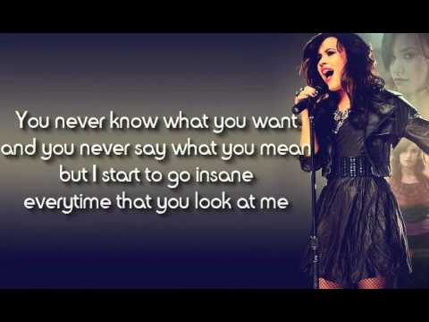 1) Here we go Again - Demi Lovato (Lyrics)