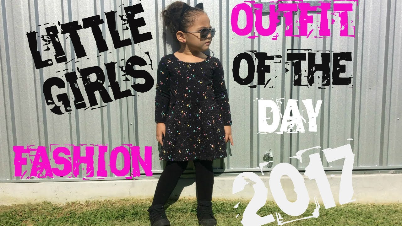 a15aed612 LITTLE GIRLS FASHION OUTFIT OF THE DAY 2017-BABY GIRLS KIDS CLOTHES ...