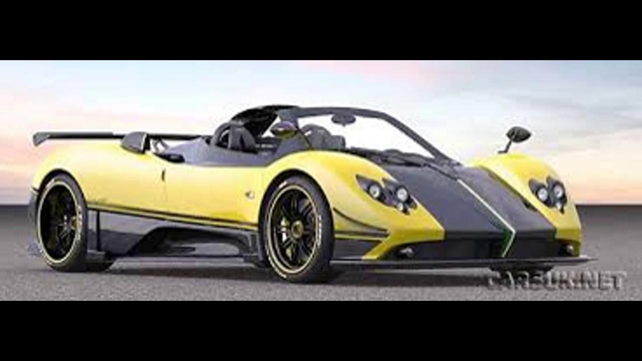 Pagani Zonda Cinque Roadster Super Car For And Youtube
