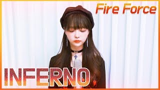Download lagu Mrs. Green Apple - Inferno ★ Fire Force OP :: Cover by V0RA