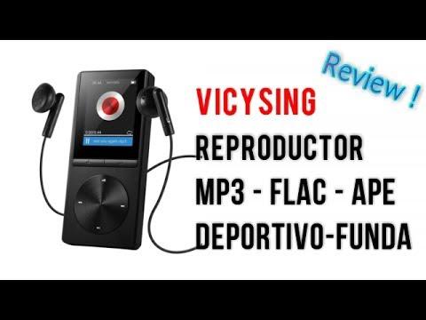 VicTsing Reproductor de MP3  FLAC  APE OGG   8GB con Brazalete   | UnBoxing  Review Español
