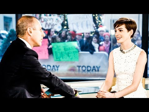 Revisiting That Time Anne Hathaway Put Creepy Matt Lauer In His Place