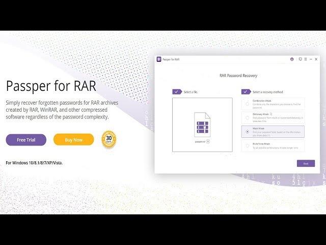 Desbloqueie arquivos do WinRAR com Senha usando o iMyFone Passper!