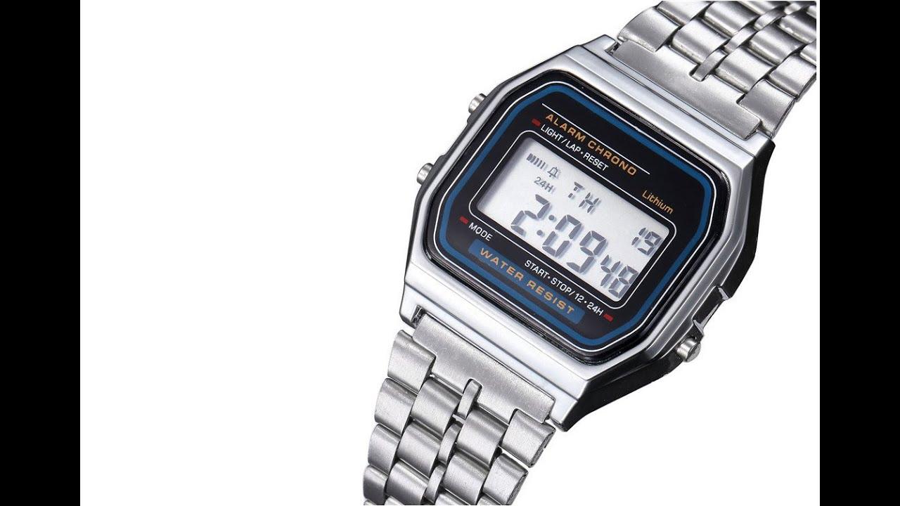 Крутые часы из 90х :) с Алиэкспресс - YouTube