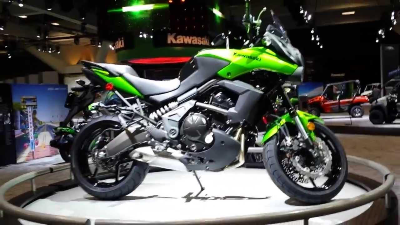 2014 Kawasaki Versys 650 Adventure Bike Youtube