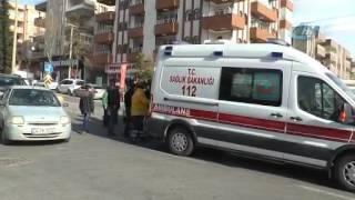 Urfa'da otomobil ile motosiklet çarpıştı -SANLIURFA63TV