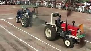 Swaraj 855 vs sonalika 60 tochan mukabla