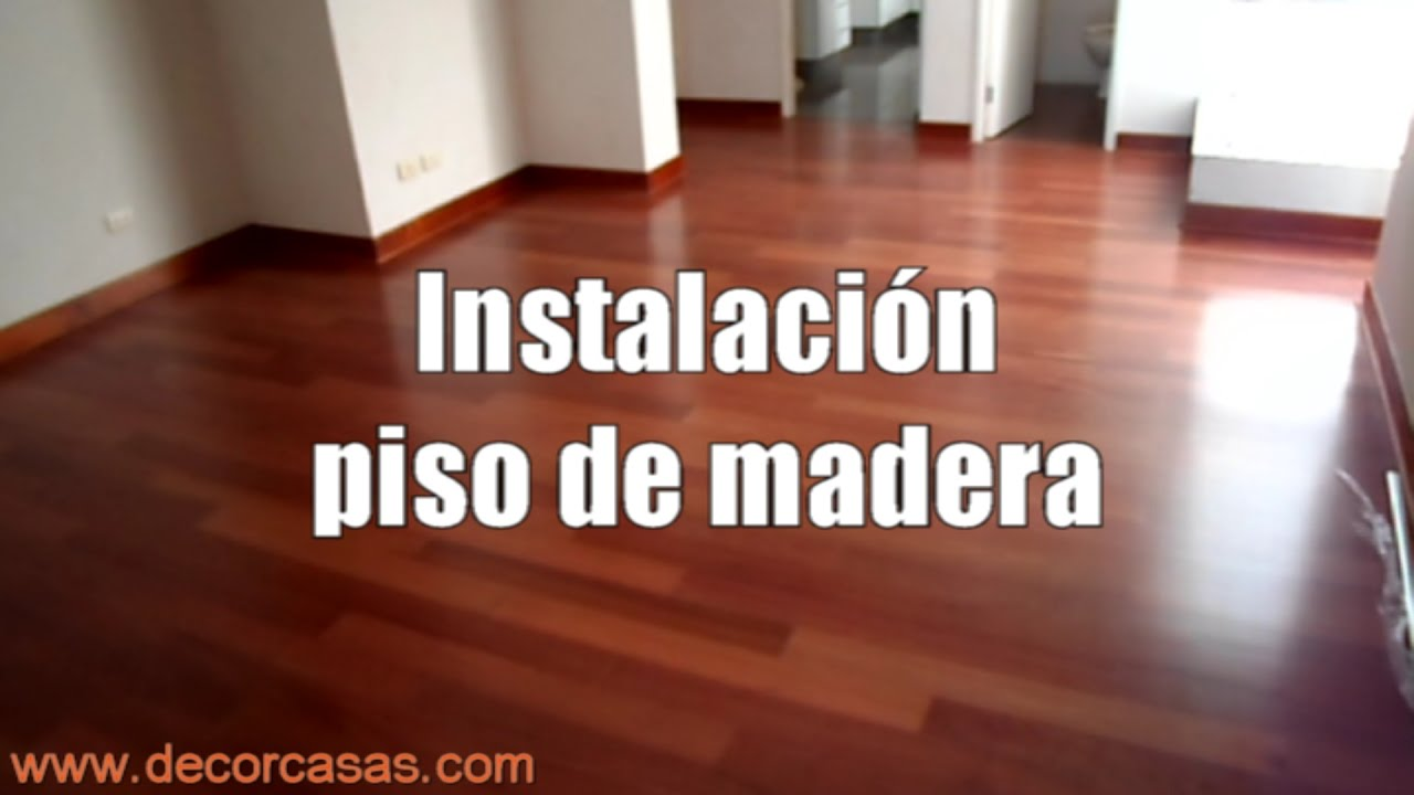 Como instalar piso de madera instalacion de parquet for Pisos de bar madera