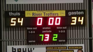 9 march 2018 Rivertrotters U22 vs Leiderdorp U22 77-56 3rd period
