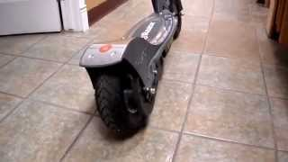 First Impressions Razor Electric Scooter E300 Motor Maximum Overdrive pneumatic tires Speeds up 15 m