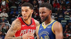 Golden State Warriors vs New Orleans Pelicans - Full Highlights | October 28 | 2019-20 NBA Season