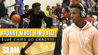 Bronny James vs Mikey Williams' OLD AAU SQUAD!? 👀