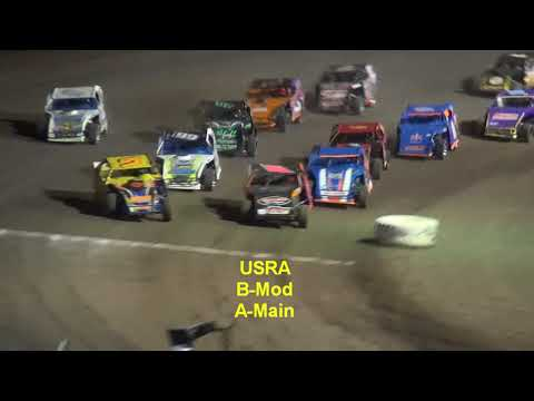 Lakeside Speedway Prime Summer Series USRA A&B Mods Stock Cars Mains