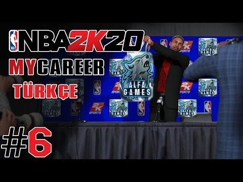VE DRAFT GECESİ GELDİ !!! - NBA 2K20 MyCareer Türkçe - Bölüm 6