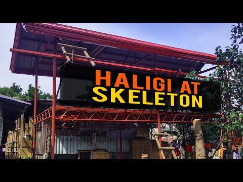 DIY na Bahay Part 2 | Haligi at Skeleton