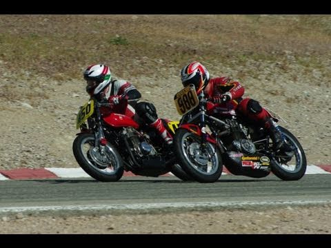 2011 Corsa Motoclassica AHRMA Vintage Motorcycle Race At Willow Springs California
