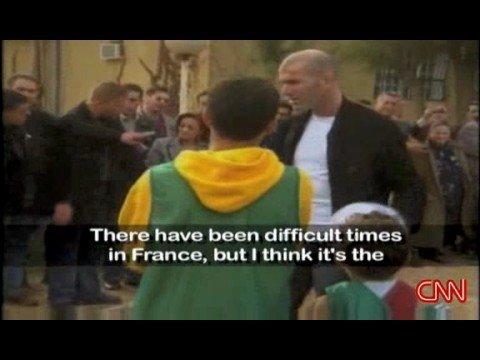 """CNN """" Zidane a fait tout pour la france MAIS elle n a rien fait pour Zidane """""""