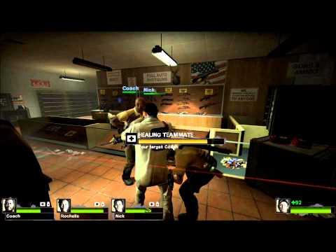 Left 4 Dead 2 Dead Center Campaign Walkthrough Part 2/4 [HD]