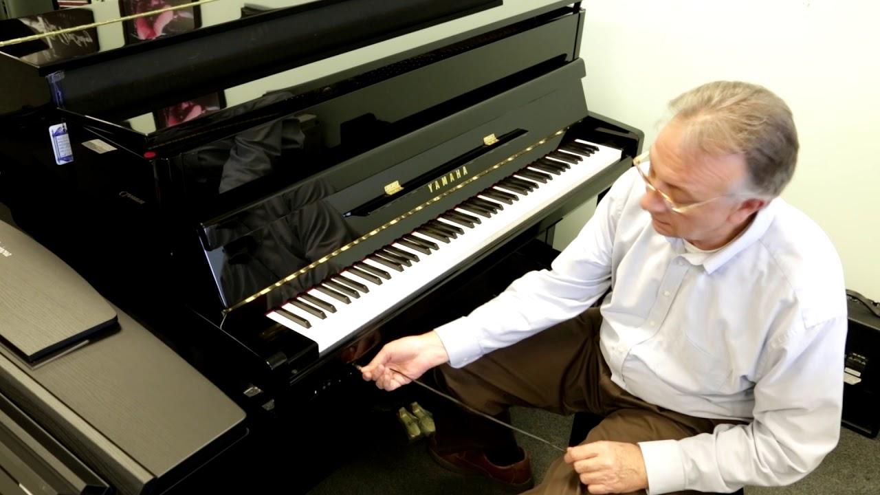 yamaha b2 sg silent acoustic piano youtube. Black Bedroom Furniture Sets. Home Design Ideas