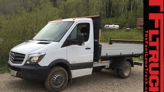 2015 Mercedes-Benz Sprinter 3500 Dump truck: Everything You Ever Wanted to Know