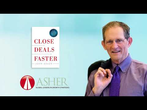 John Asher ed About Close Deals Faster by Willie Pena